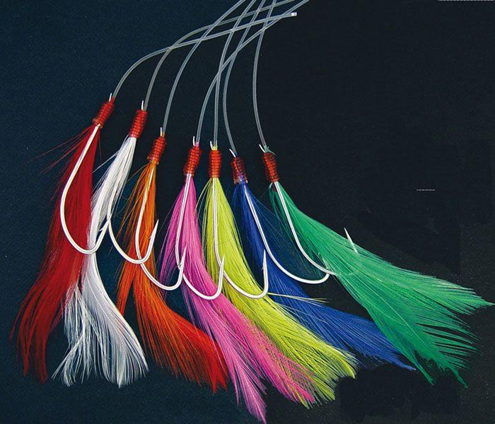Fishing feathers