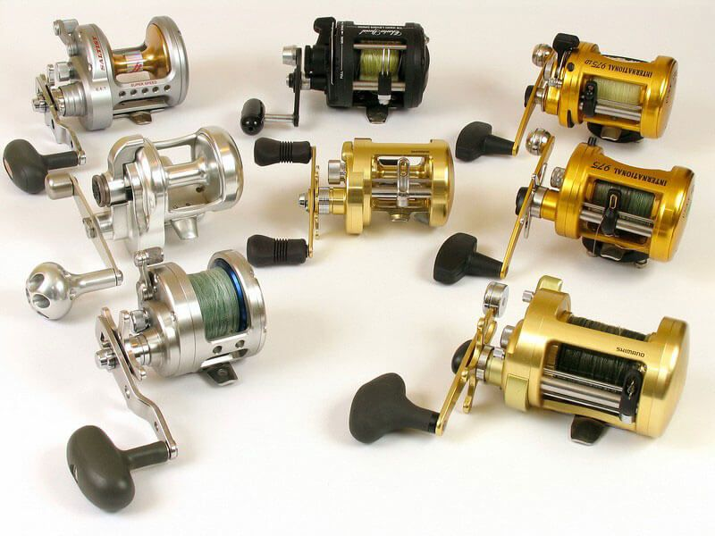 Difference between lever and star drag reels