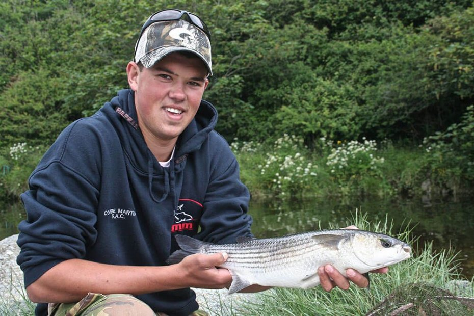 James with a 3lb+ Irish Mullet