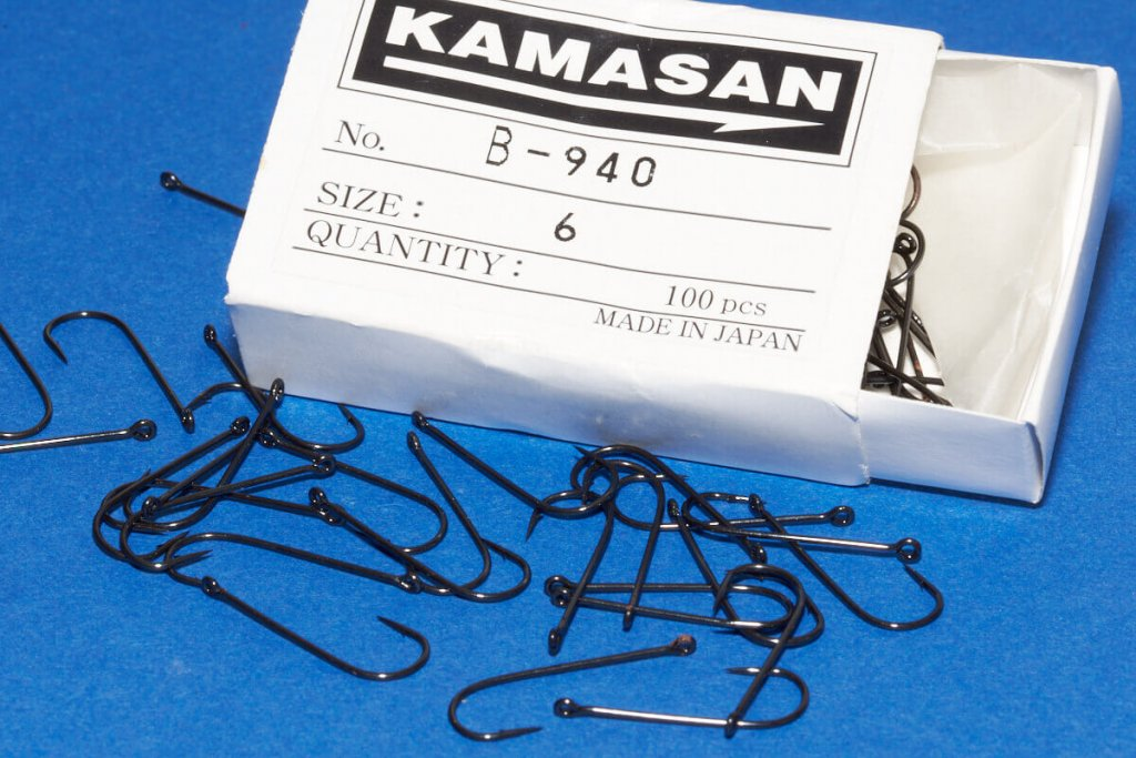 Kamasan B940 Size 6 for Red Mulleet