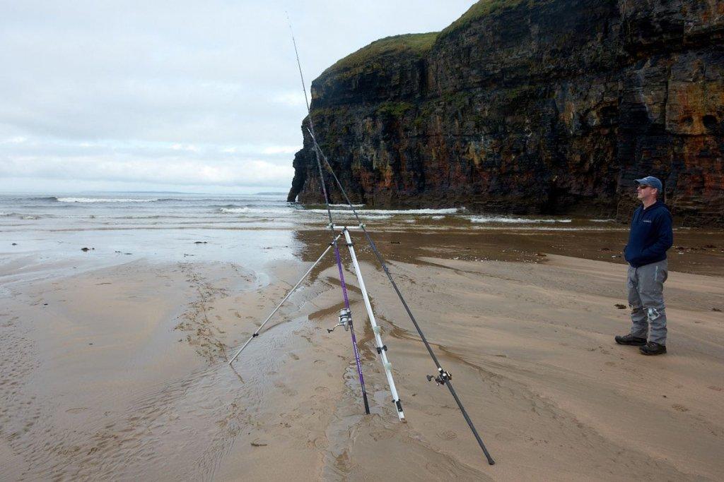 Ideal coalfish beach